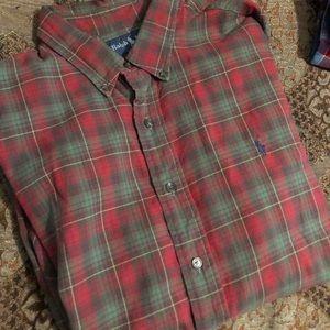 Polo by Ralph Lauren like new plaid shirt long sle